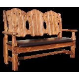Скамейки и кресло-скамейки под старину