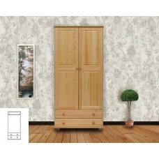 """Шкаф двухстворчатый для верхвей одежды """"Витязь-110"""""""
