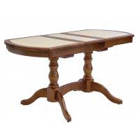 Кафельный стол из берёзы