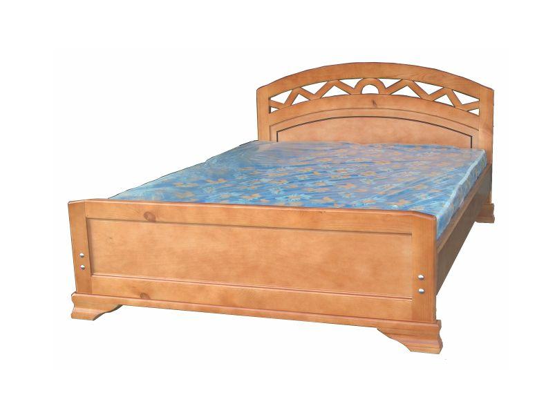 """Кровать двуспальная из дерева """"Мелиса"""""""