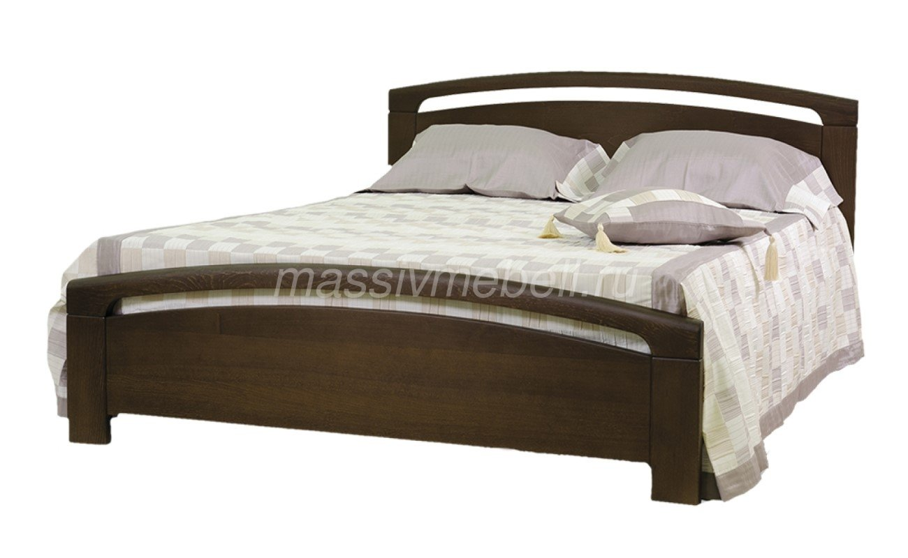 """Кровать """"Бали"""" из массива дерева"""
