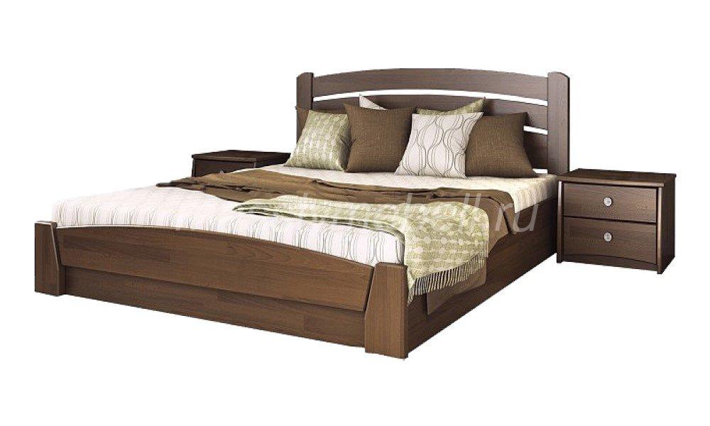 """Кровать из массива дерева """"Селена"""""""