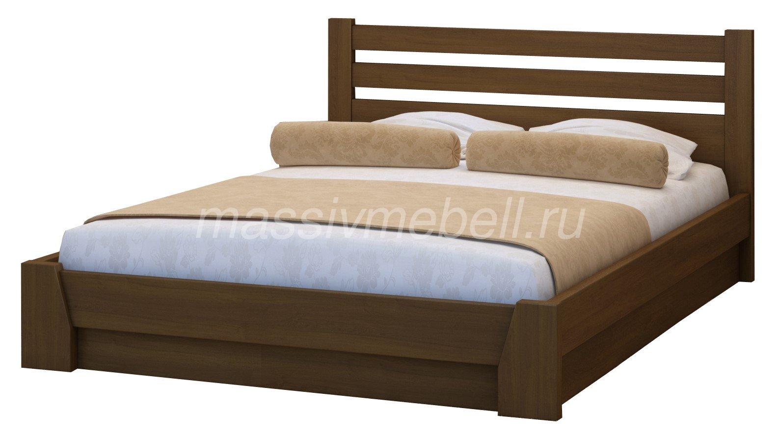 """Кровать из массива дерева """"Веста"""""""