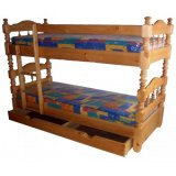 Детские двухъярусные кровати из сосны от Муромской фабрики мебели!
