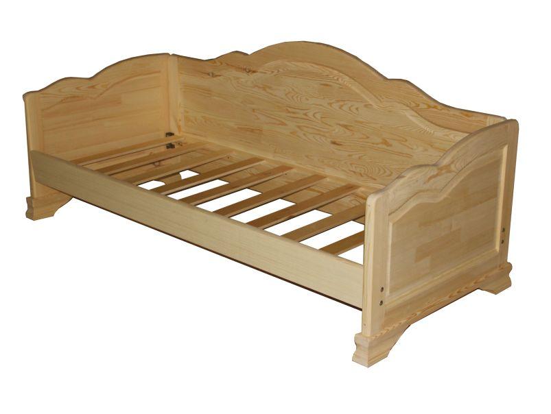 """Кровать-диван из массива дерева """"Пётр"""""""