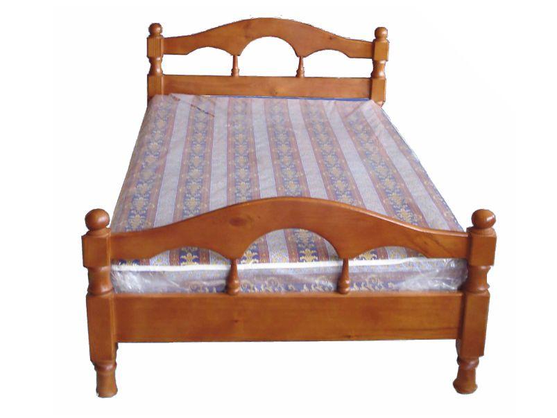 """Кровать из массива """"Соня"""" (сосна)."""