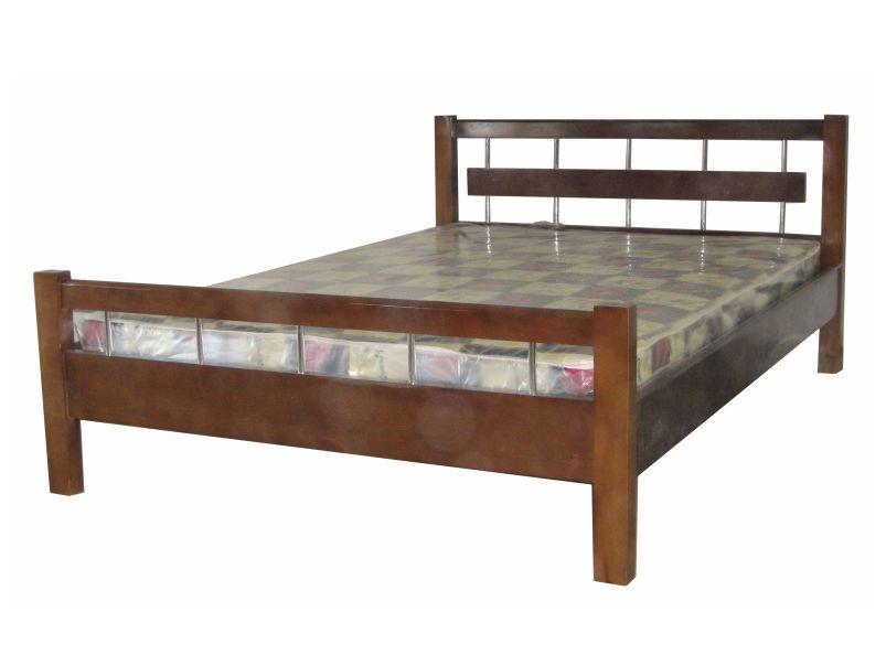 """Кровать из массива дерева для дачи """"Японка"""" недорого."""