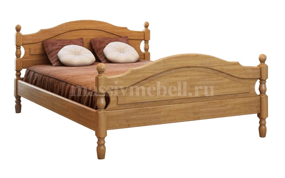 """Деревянная кровать """"Жанна"""""""