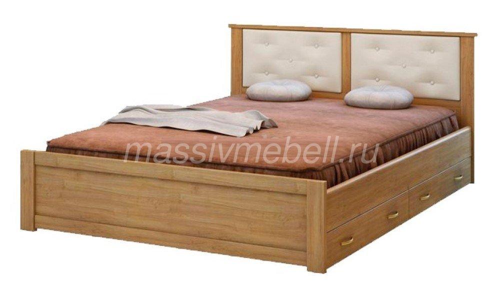 """Деревянная кровать """"Глория"""""""