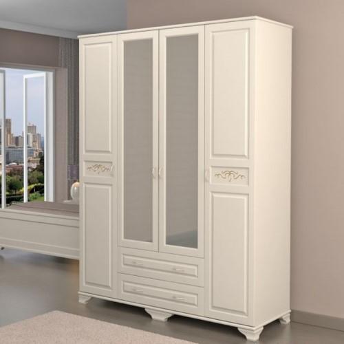 Распашной шкаф для одежды белья