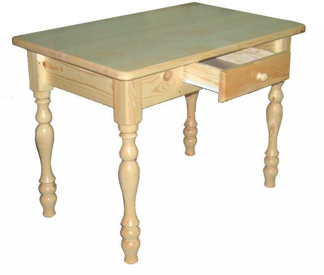 Стол для кухни с ящиком для приборов.