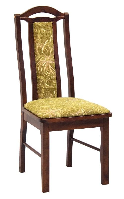 Мягкий стул из массива берёзы, купить в Москве.