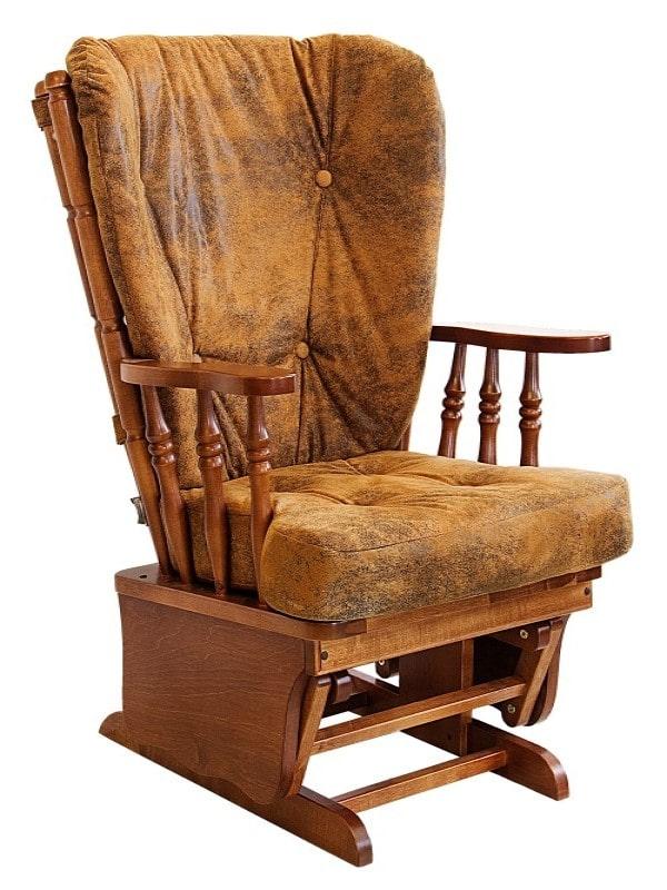 Кресло качалка из берёзы купить в Москве!